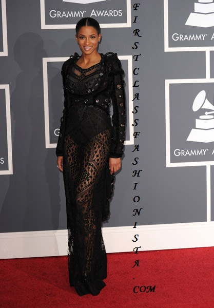 Ciara Grammy Awards Dress