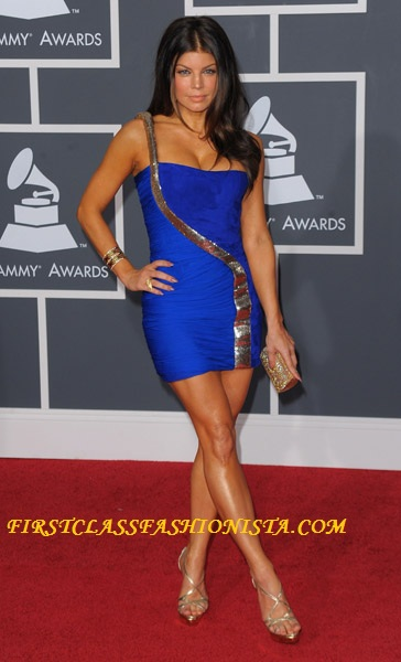 Fergie Grammy Awards Dress