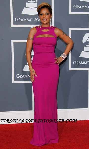 Mary J. Blige Grammy Awards Dress