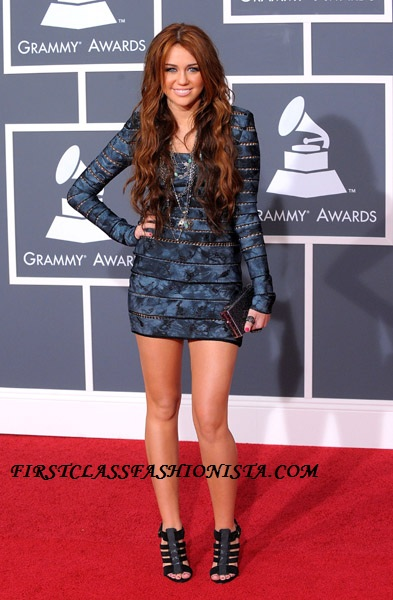Miley Cyrus Grammy Awards Dress