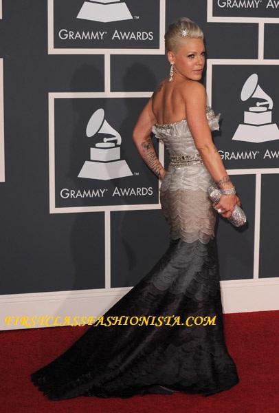 Pink Grammy Awards Dress
