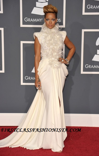 Rihanna Grammy Awards Dress