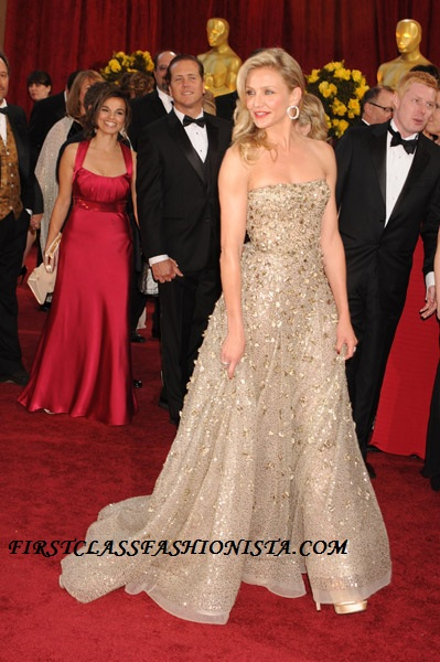 Cameron Diaz Academy Awards Dress Designer
