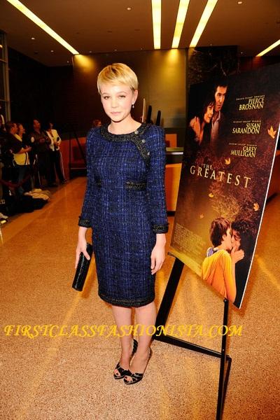 Carey Mulligan Dresses