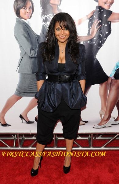 Janet Jackson Wearing Alexander McQueen