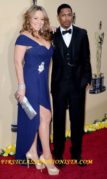 Mariah Carey Dress at the 2010 Academy Awards