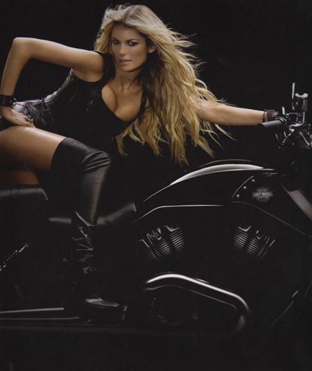 Marisa Miller Harley Davidson Photos