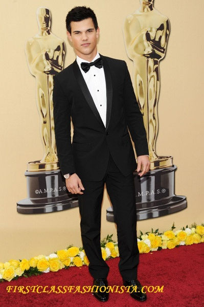 Taylor Lautner on the Red Carpet