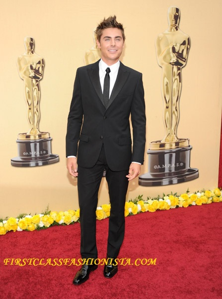 Zac Effron Academy Awards Fashion Designer