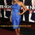 "Taraji P. Henson at the premiere of ""Date Night"". First Class Fashionista Taraji P. Henson 's hairstyle and dress at the premiere of ""Date Night"". Who is First Class Fashionista..."