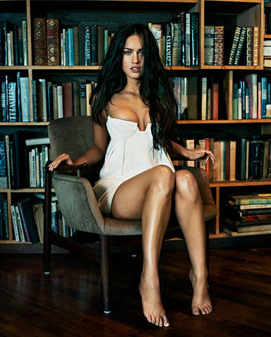 "Megan Fox Voted Sexiest Woman Alive"" by men–even if the man was"