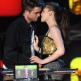 "Best Kiss: MTV Movie Awards: Robert Pattinson and Kristen Stewart Wins MTV Movie Awards' Best Kiss ""It takes a lot of smoke and mirrors to make us look good kissing,""..."