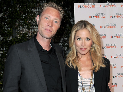 Christina Applegate and Fiance Martyn LeNoble