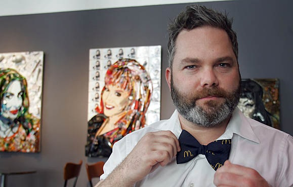 Jason Mecier Candy Celebrity Art