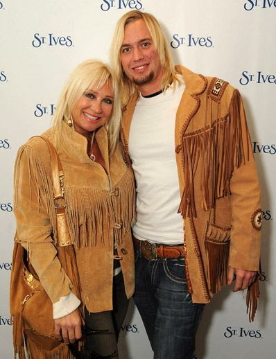 Linda Hogan and Boyfriend