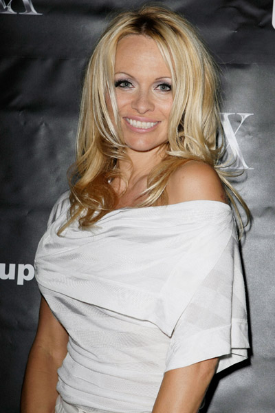Pamela Anderson at Fluxx Nightclub
