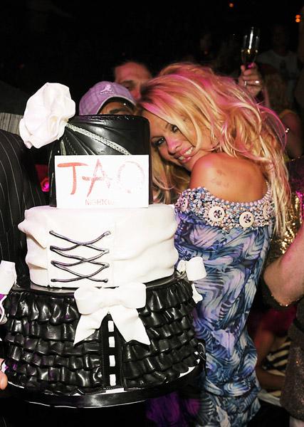 Pamela Anderson at TAO Las Vegas