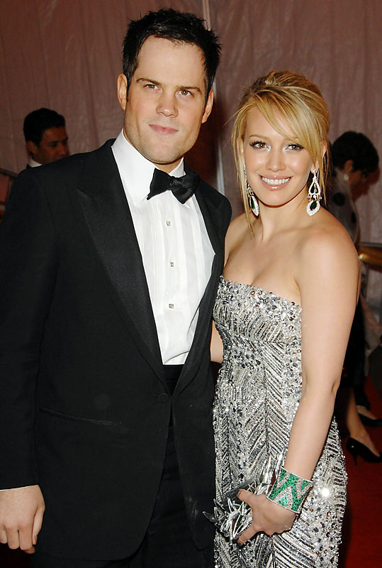 Hilary Duff and Mike Comrie Together