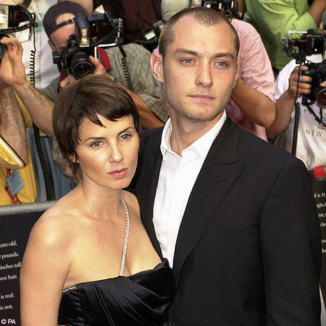 Jude Law and Ex
