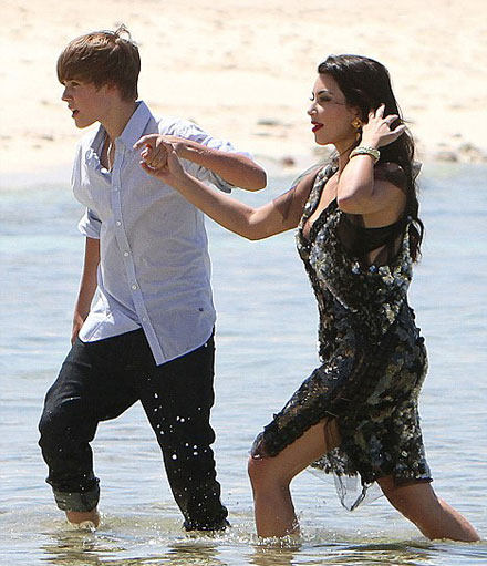 Kim Kardashian and Justin Bieber Together