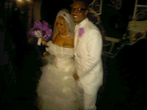 TI and Tiny Wedding Pictures