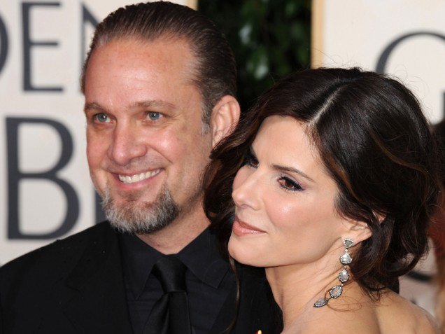 Pictures of Sandra Bullock and Jesse James