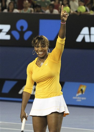 Serena Williams at Australian Open