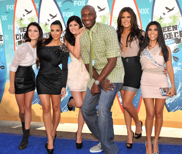 Kardashians Teen Choice Awards