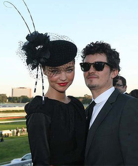 miranda kerr and orlando bloom wedding