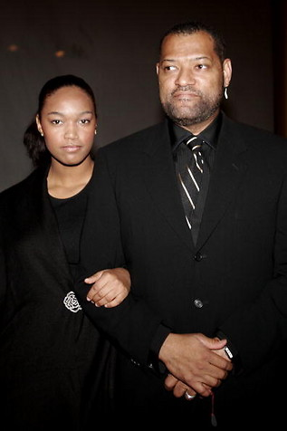 laurence fishburne and daughter