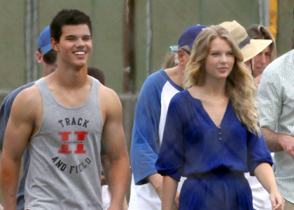 Taylor Swift and Taylor Lautner Together. Here is where you can tell ...