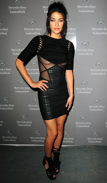 I love Jessica Szohr's shoes, but I love the dress more!