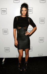 Jessica Szohr Mercedes-Benz Fashion Week