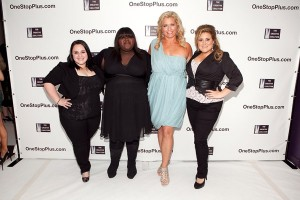 Nikki Blonsky, Gabourey Sidibe, Emme and KayCee Stroh Fashion Week