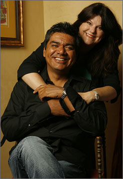 george lopez and wife