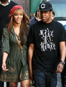 Beyonce and Jay Z in NYC