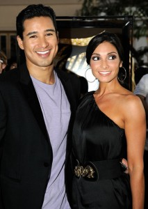 Mario Lopez and Girlfriend Courtney Mazza