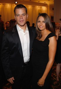 Matt Damon and Wife Luciana