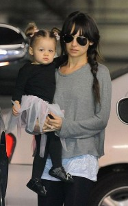 Nicole Richie and Daughter Harlow
