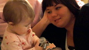 Teen Mom Star Amber Portwood and Daughter Leah