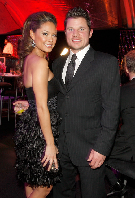 Nick Lachey and Vanessa Minnillo