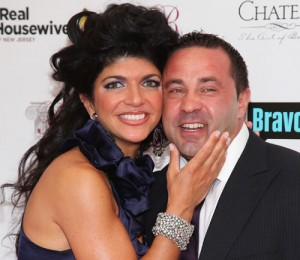 Real Housewives of New Jersey Teresa and Husband Joe