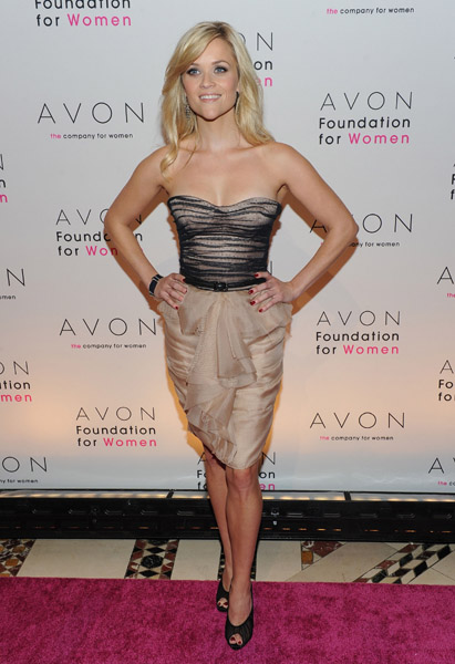 Reese Witherspoon Dress at Avon Foundation For Women Gala