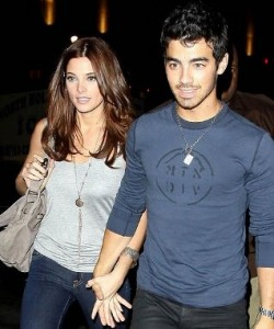 Joe Jonas and Ashley Green
