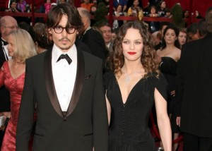 Johnny Depp and Girlfriend