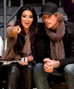 Kim Kardashian and Gabriel Aubry Together