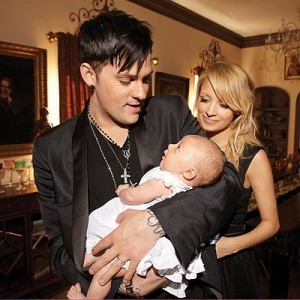 Nicole Richie Joel Madden and Son Harlow