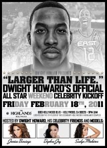 Dwight Howard Larger Than Life NBA All Star Event
