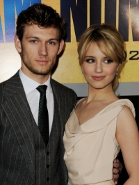 Alex Pettyfer and Dianna Argon
