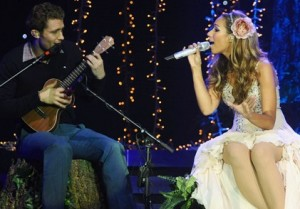 Leona Lewis and Mathew Morrison